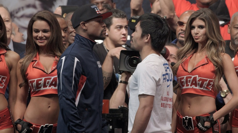 Mayweather vs Pacquiao Weigh Ins Floyd Mayweather vs Manny Pacquiao