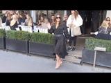 EXCLUSIVE Eva Longoria goes to Avenue restaurant in Paris