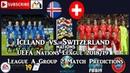 Iceland vs. Switzerland UEFA Nations League League A Group 2 Predictions FIFA 19