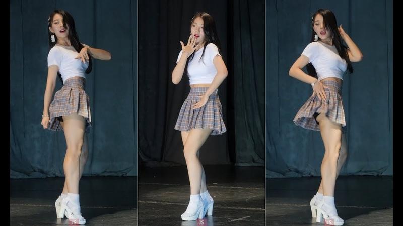 180808 MC 레이디비(Lady B) 시온 cover-버블팝 인사아트프라자뉴타TV KPOP by JS 직캠(fancam)