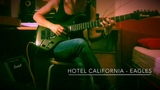 Hotel California (Eagles) Guitar COVER - Julia J.