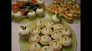 Закусочные тарталетки Топ 4 начинки I Snack tartlets Top 4 toppings
