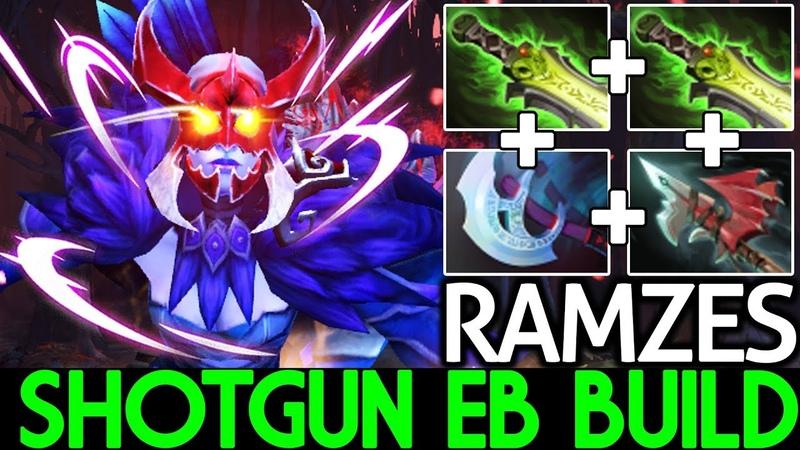Ramzes [Drow Ranger] Shotgun Ethereal Blade Build Crazy Game 7.19 Dota 2