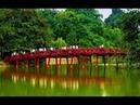 Озеро Возвращенного Меча Ханой Вьетнам / Hoan Kiem Lake Hanoi Vietnam
