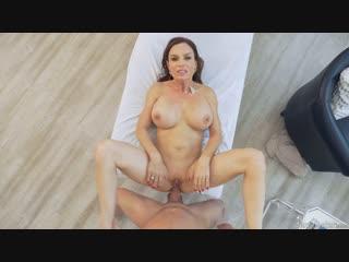 Diamond Foxxx [ massage oil ass tits boobs booty dick cock Blowjob sex porn MILF mom Массаж Секс Милф Порно в масле анал anal ]