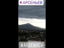 Вчерашнее аппокалитическое небо над Арсеньевом