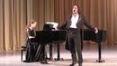 Божидар Божкилов Финал камерного отделения XI Международного конкурса молодых оперных певцов