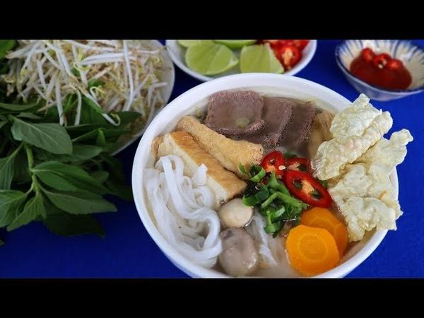 Cách nấu PHỞ CHAY, PHỞ BÒ CHAY ĐẬM ĐÀ HƯƠNG VỊ - Món Ăn Ngon