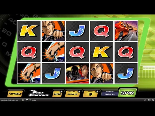 Das neue Slotgame the Fast and the Furious Online918