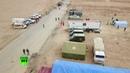 Беспилотник облетел гуманитарные коридоры для вывода беженцев из сирийского лагеря Эр Рукбан