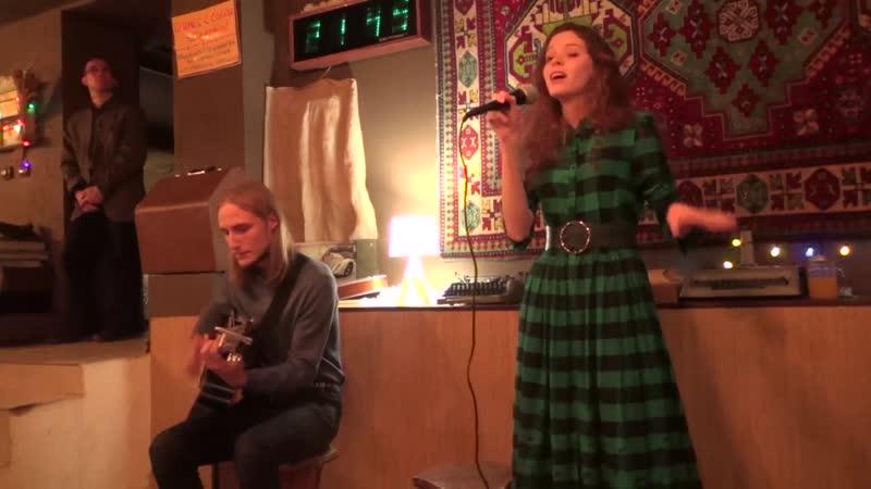 Группа Имбирный Эль.124 акустика.10.12.2018. в кафе Пряное
