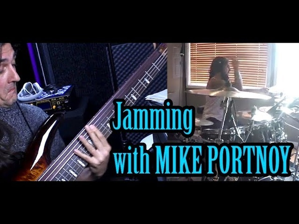 Franck Hermanny - Mike Portnoy's Creative Challenge ! Jam with the Master !