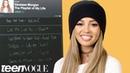Vanessa Morgan Creates the Playlist of Her Life | Teen Vogue