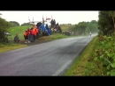 How to avoid wet road on a motorcycle