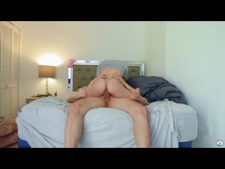 Katie kush - hot blonde gets cum on her glasses [all sex, hardcore, blowjob]
