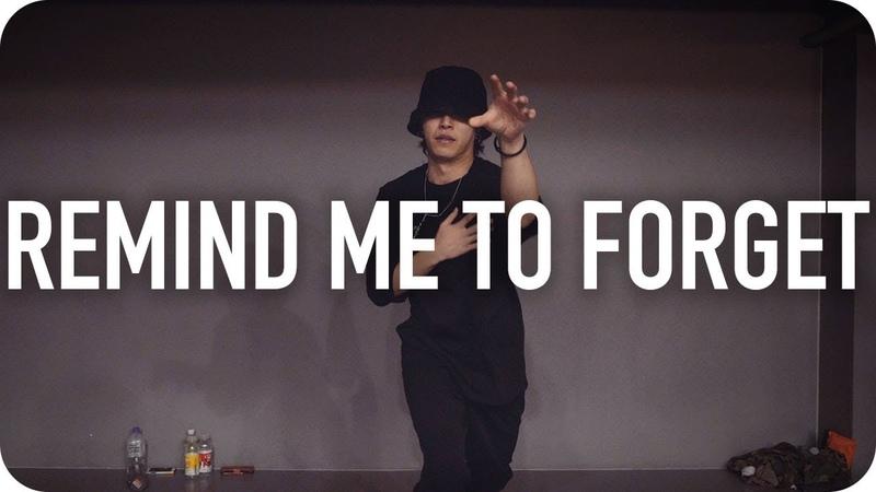 Remind Me to Forget - Kygo, Miguel Junsun Yoo Choreography