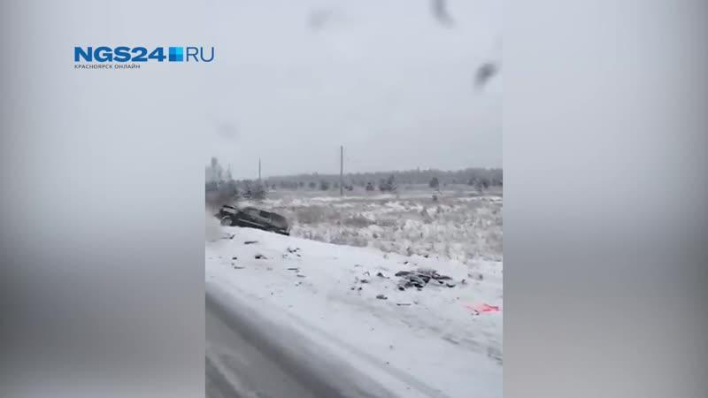 Авария в Уярском районе водителя ВАЗа занесло