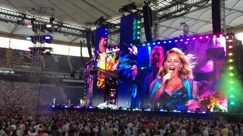 Helene Fischer Frankfurt 20 Jul 2018 Opener shorter Version Stadion Arena PetziAZ