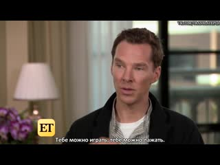 'avengers: infinity war': benedict cumberbatch and tom holland [rus sub]