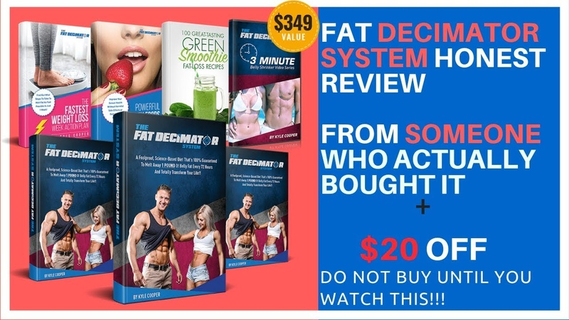 Fat Decimator System Review from a real buyer Fat Decimator Discount | BEWARE WATCH BEFORE BUYING