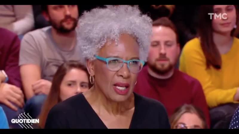 Une noire américaine a reçu carte blanche de la part de Yann Barthès pour affirmer que le blanc est stupide