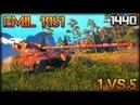 EMIL 1951 world of tanks Kolobanov 1440p