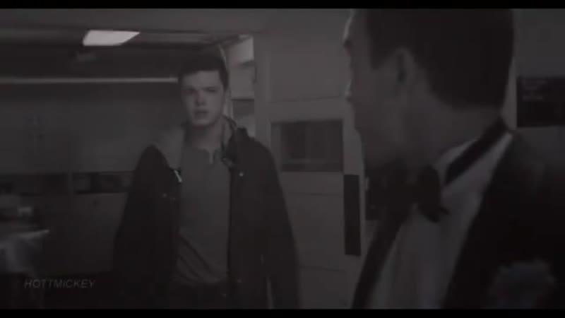 Ian gallagher x mickey milkovich ; gallavich vine
