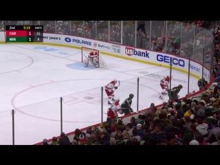 Carolina Hurricanes vs Minnesota Wild – Oct.13, 2018   Game Highlights   NHL 18/19   Обзор матча