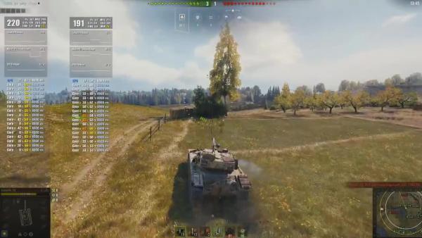 World of Tanks - Сравнение FPS и картинки в патче 1.3 и 1.4