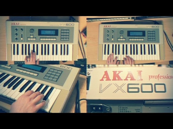 Akai VX600 Synthesizer | Well, you found me