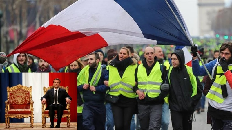 YELLOW VEST ACT 25: Macron Faces DISASTROUS Polling