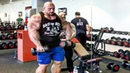 The Real Life Giant Bodybuilder - Biggest Workout Monster From France