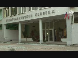 СК опубликовал видео осмотра керченского колледжа после стрельбы