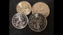 1 копейка 2017 и 5 копеек 2017 года, пробники - редкие и дорогие современные монеты