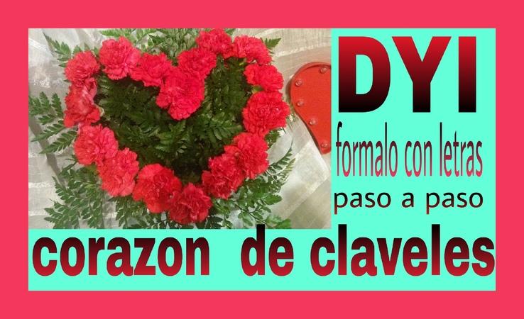 Corazón arreglo de flores San Valentín 2016
