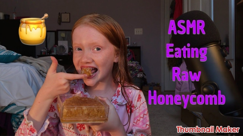 ASMR~ Eating Raw Honeycomb | EXTREMELY Sticky Mouth Sounds! 🍯