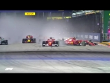 Analysing the Ferrari Sandwich | 2017 Singapore Grand Prix