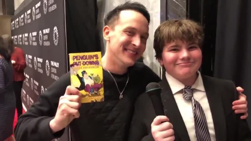 Video of Ben giving @robinlordtaylor his present last night.