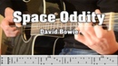 Space Oddity David Bowie Fingerstyle Cover with TABS