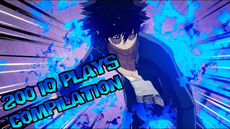 Dabi Gameplay Except its 200 IQ Plays Compilation ( My Hero Academia Ones Justice )