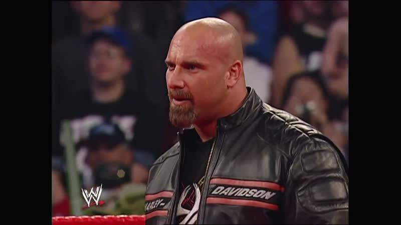 Дебют Голдберга в WWE
