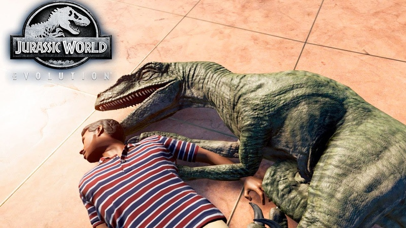 СФОТАЙ ТИПО СПЛЮ С РАПТОРОМ - Jurassic World EVOLUTION 5