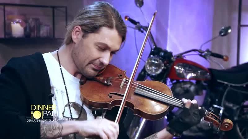 DinnerParty Star Violinist David Garrett zu Gast bei Simon Beeck