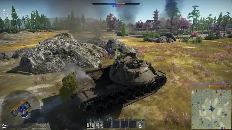 War Thunder. Главный калибр M103