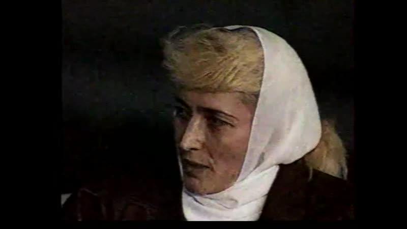Фрагменты передачи Зал ожидания. Интервью Сажи Умалатовой, 1993