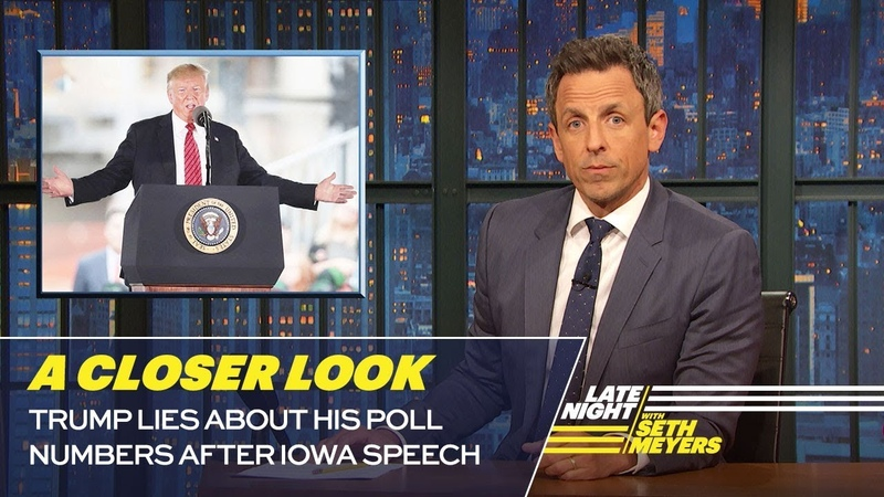 Trump Lies About His Poll Numbers After Iowa Speech A Closer Look