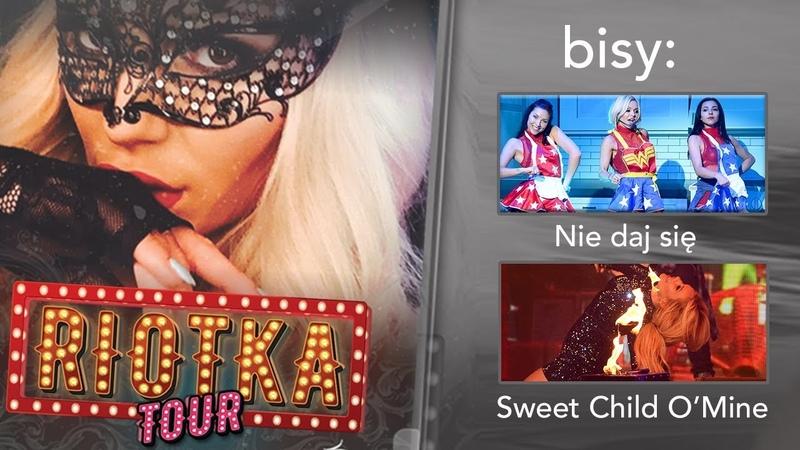 Doda - Nie daj sięSweet Child OMine (Riotka Tour bisy)