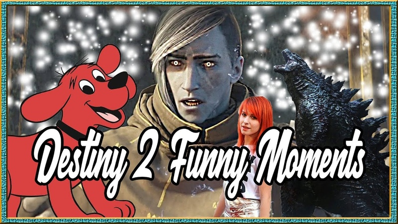 Destiny 2 Funny Moments | Is Clifford the Big Red Dog a Kaiju?