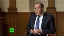 НАТО уходит от диалога Лавров рассказал французским СМИ о внешней политике России