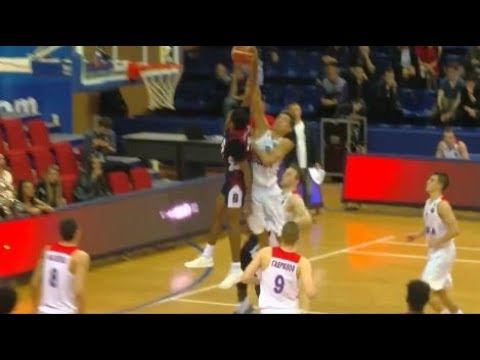 JBA USA vs CSKA Moscow Jerell Springer DUNKS on Defender LaMelo 31 PTS FULL GAME HIGHLIGHTS